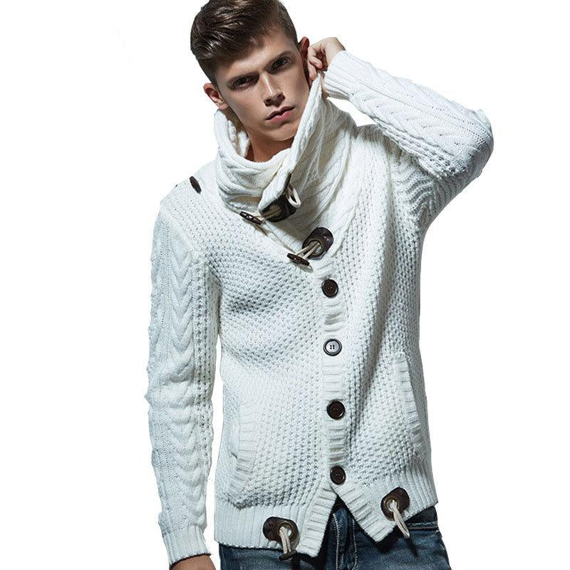 Dapper Knitted Cardigan (M-4xl) - Canitrini