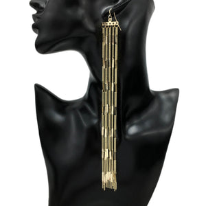 Bohemia Long Tassel Earrings - Canitrini