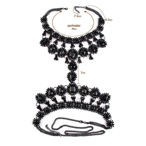 Luxury Big Crystal Body Chain