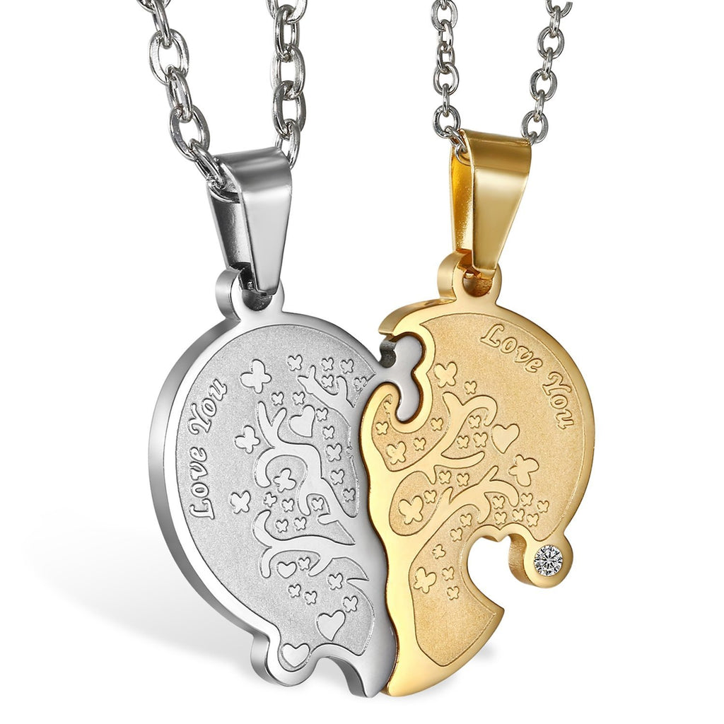 Tree Of Life Matching Couple Necklace
