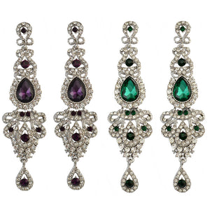 Luxury Crystal Drop Earrings - Canitrini