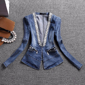 Diamond Jeans Jacket (S-2XL) - Canitrini