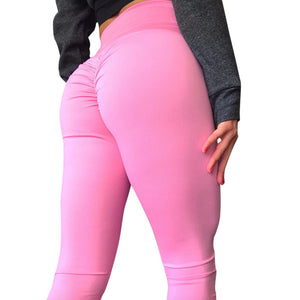 Gathered Fitness Leggings (S-XL)