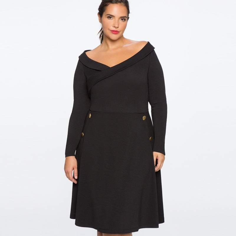 Elegant JuJu Dress (3XL-7XL)