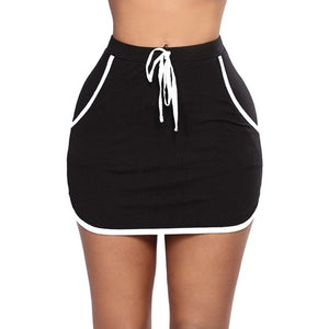 Causal Mini Skirt (S-2XL) - Canitrini