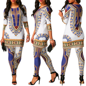 Dashiki Leisure Sets (S-XL)