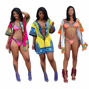 Dashiki Cover Up Mini (S-3XL)