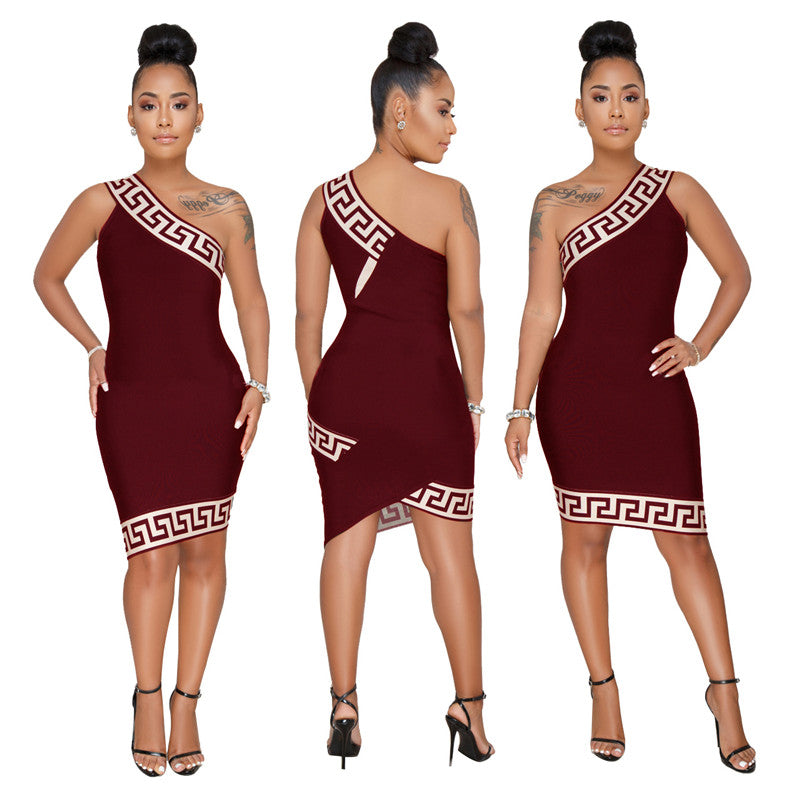 Asymmetric Christina Dress (S-3XL)