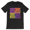 """Pop Pug Art"" Men's Short Sleeve Jersey Tee"