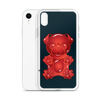 """Gummy Pug Red"" Phone Case for iPhone"