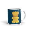 """Gummy Pug - Yellow"" Ceramic Mug"
