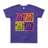 """Pop Pug Art"" American Apparel Short Sleeve Kids T-Shirt (8 to 12 Year Olds)"
