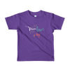 """Peace, Love & Dogs"" American Apparel Short Sleeve Kids T-Shirt (2 to 6 year olds)"