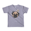 """What the Pug!"" American Apparel Short Sleeve Kids T-Shirt (2 to 6 Year Olds)"