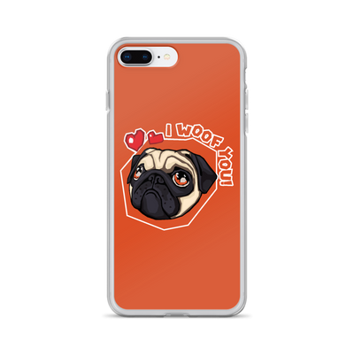 """I Woof You!"" Phone Case for iPhone"