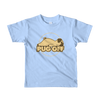 """Pug Off"" American Apparel Short Sleeve Kids T-Shirt (2 to 6 Year Olds)"