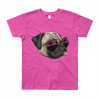 """California Pug"" American Apparel Short Sleeve Kids T-Shirt (8 to 12 Year Olds)"