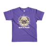 """Hug a Pug""  American Apparel Short Sleeve Kids T-Shirt (2 to 6 year olds)"