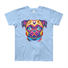 """Deep Blue Eyes"" American Apparel Short Sleeve Kids T-Shirt (8 to 12 Year Olds)"
