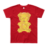 """Gummy Pug - Yellow"" Short Sleeve Kids T-Shirt (8 to 12 year olds)"