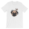 """What the Pug!"" Women's Short Sleeve Jersey Tee"