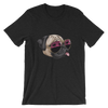 """California Pug"" Women's Short Sleeve Jersey Tee"