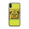 """Pop Pug Art"" Phone Case for iPhone (Citrus Tones)"