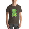 """Gummy Pug Green"" Men's Short Sleeve Jersey Tee"