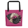 """California Pug"" All-Over Print Tote Bag"