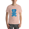 """Gummy Pug Blue"" Men's Short Sleeve Jersey Tee"