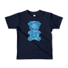 """Gummy Pug Blue"" American Apparel Short Sleeve Kids T-Shirt (2 to 6 year olds)"