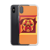 """Pop Pug Art"" Phone Case for iPhone (Oranges & Reds)"