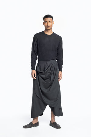 Draped Trousers