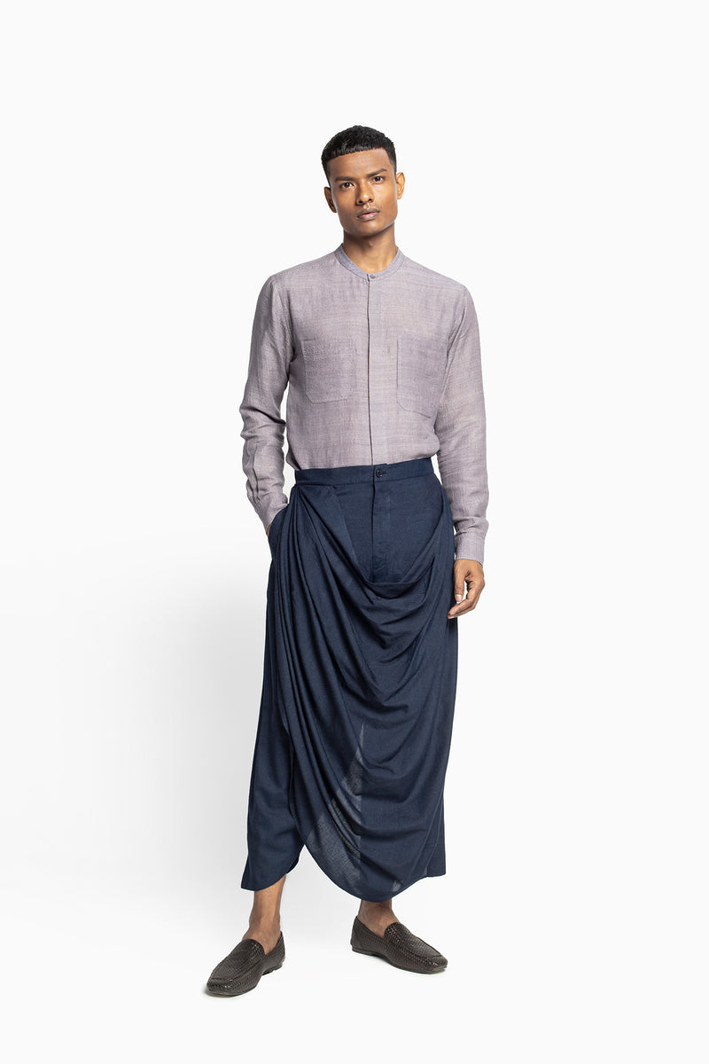 Draped Dhoti Pants