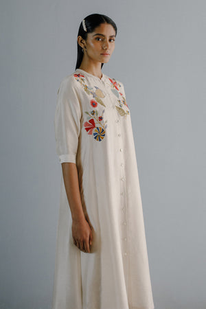 Kantha Threadwork Tunic