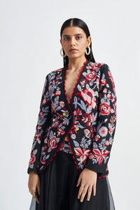 Night Bloom Jacket Set