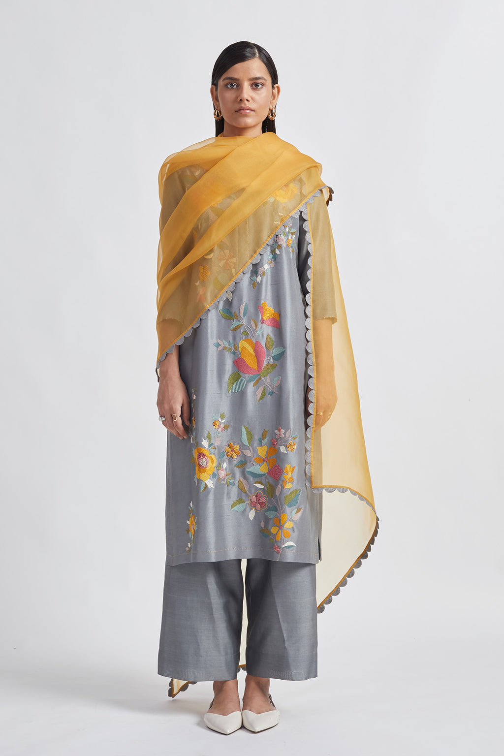 Floweret Kurta Set
