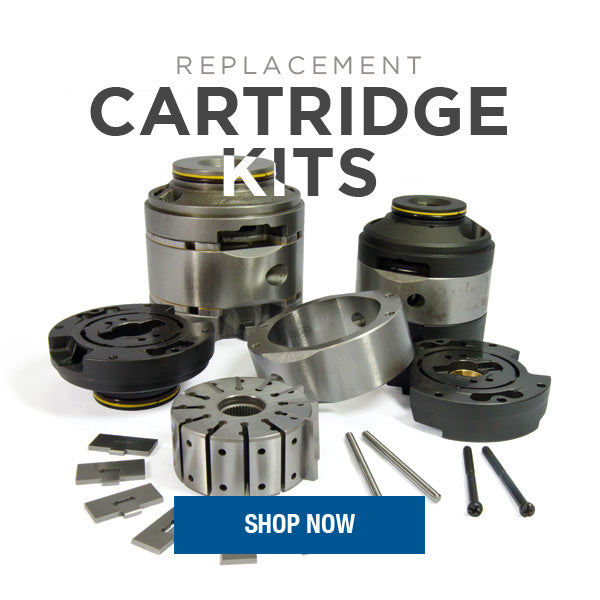Replacement Interchange Cartridge Kits for Vickers Vane Pumps & Motors