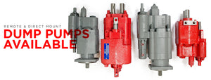 Genuine Metaris Dump Pumps Available at Special Pricing | Remote Mount and Direct Mount