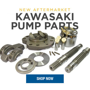 New Aftermarket Kawasaki K3V63, K3V112 & K3V140 Pump Parts