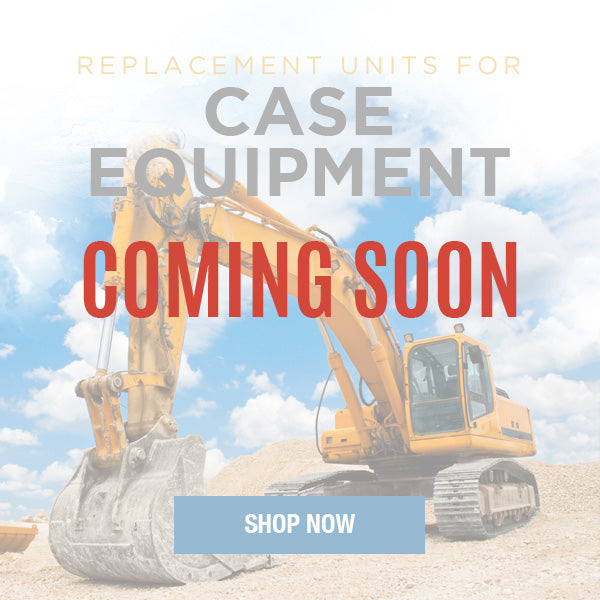 Replacement Hydraulic Pumps & Motors for Case Construction Equipment
