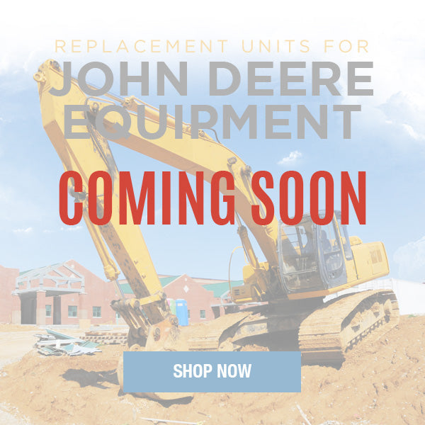 Replacement Hydraulic Pumps & Motors for John Deere Construction Equipment