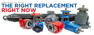 Providing you with the right hydraulic unit or part replacement, right now