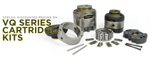 Special Discounted Pricing on Vickers VQ Series Cartridge Kits