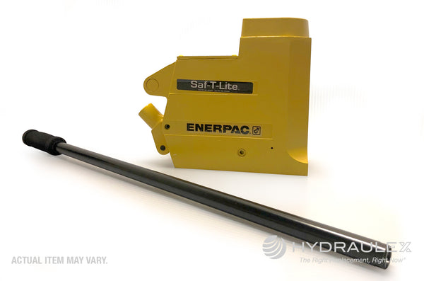 Enerpac JHA356, 35 Ton, 6.13 in Stroke, Hydraulic Aluminum Jack with Pump Handle