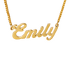 Bold Pendant Name Necklace