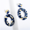 Angela Resin Hoop Earring