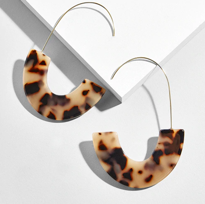 Danika Resin Drop Earrings