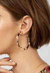 Ryan Resin Hoop Earrings