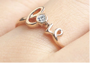 Belinda Love Ring